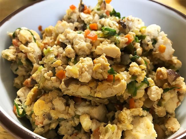コープの食材キットレビュー炒り豆腐